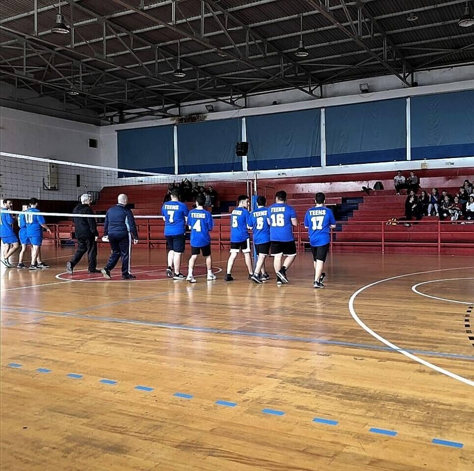 Συμμετοχή σε Σχολικούς Αγώνες Handball και Volley